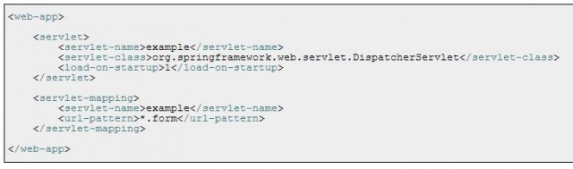 Dispatcher Servlet Configuration in Web.xml