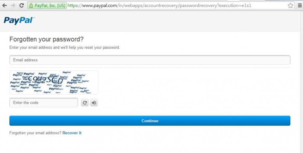 password recovery module using Spring Webflow
