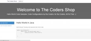 hello world code samples