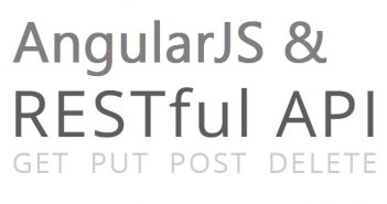 angularjs restful api