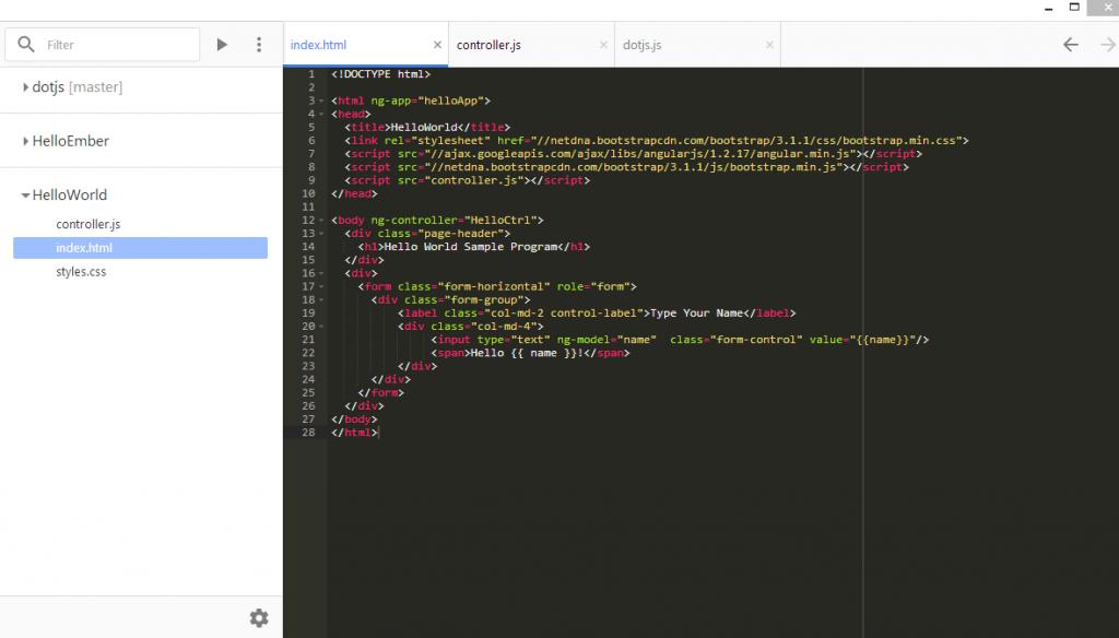 CDE - Chrome Dev Editor