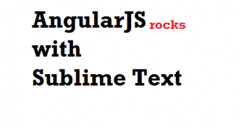 angularjs sublime text editor