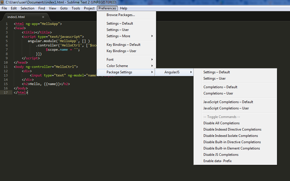 how to install sublime plugin via package control