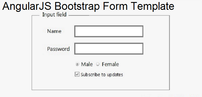Productivity – Sublime, AngularJS, Bootstrap Form Template