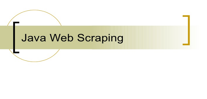 Java - How to Scrape Content from a URL - Reskilling IT