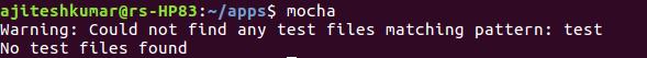 Mocha Command Execution