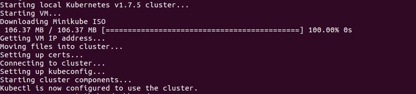 Starting Kubernetes Cluster