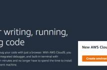 create AWS Cloud9 environment