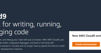 create AWS Cloud9 environment