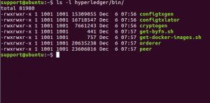 hyperledger fabric cryptogen tool