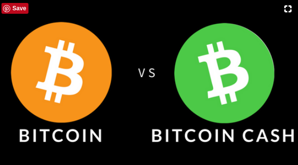 Difference between cash and cryptocurrency
