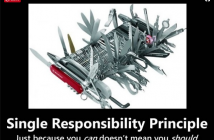 single responsibility principle with Java example