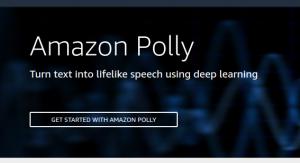 how to setup amazon polly with aws cli