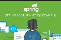 spring boot jpa mysql code example