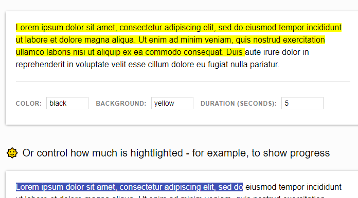 LuminJS - How to Highlight Text in HTML Pages - Reskilling IT