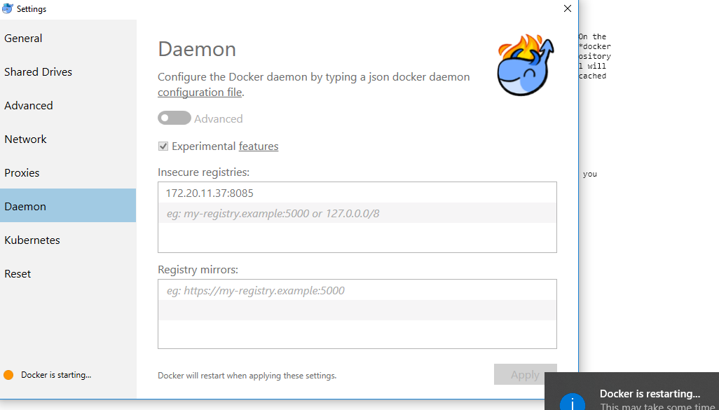 Configure Docker Client to use Nexus Repository