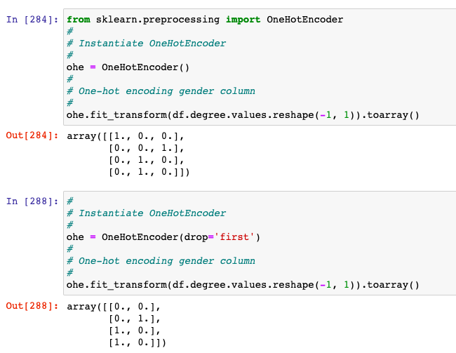 One-hot encoding to transform single categorical feature having more than 2 values