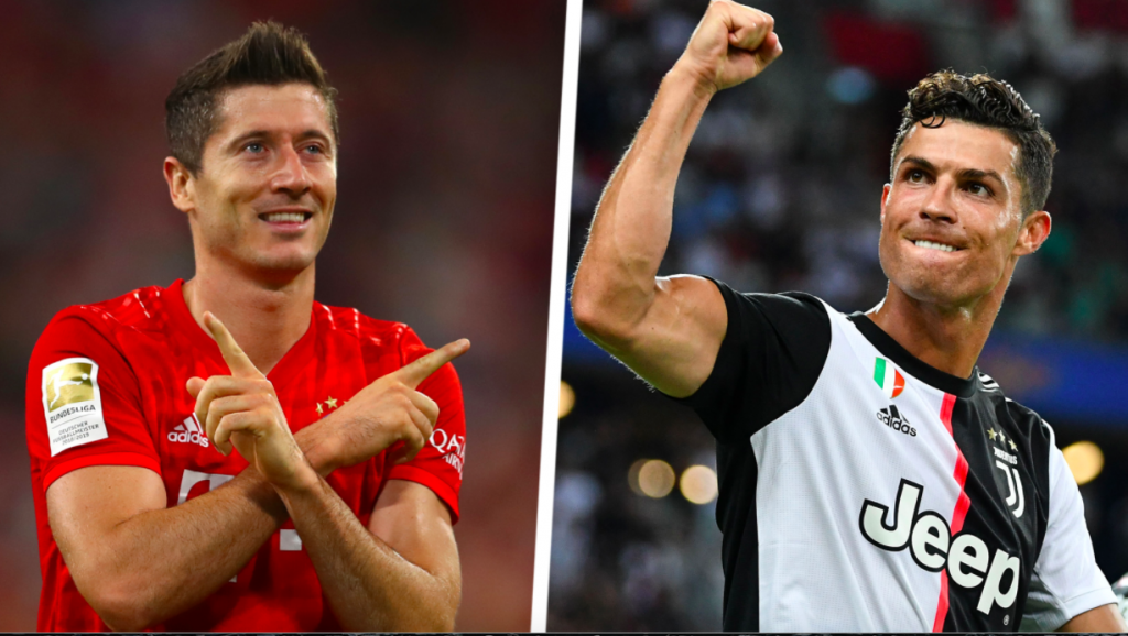 Using Z-score to compare and evaluate the performance of Christiano Ronaldo and Robert Lewandowski in 2019-2020 Champions League?
