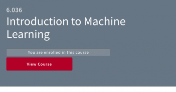 MIT Free Course on Machine Learning