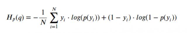 cross entropy loss