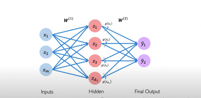 Single layer neural network