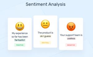 sentiment analysis machine learning